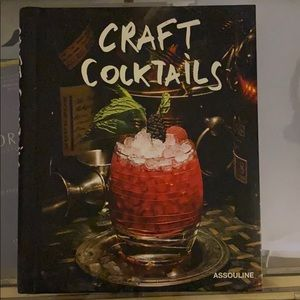 Assouline Craft Cocktail Book